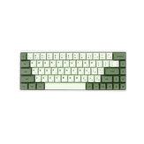 124 Tasten Matcha Keycap Set XDA-Profil PBT Sublimation Keycaps für mechanische Tastatur