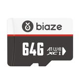 BIAZE 64GB / 128GB / 256GB memóriakártya nagysebességű TF kártya adattárolás Micro SD kártya autóvezetéshez rögzítő biztonsági monitor kamera 16G 32G