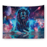 150*200cm Animal Lion Tapestry Wall Hanging Bedroom Wall Dormitory Home Tapestry Art Decoration Blanket