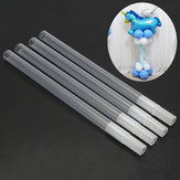 4pcs Clear Plastic Sticks Pole For Balloon Arch Column Base Stand Wedding Party Decorations
