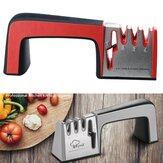 MYVIT 4 in 1 Knife Sharpener Diamond Coated&Fine Rod Knife Shears and Scissors Sharpening System Stainless Steel Blade