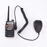 Głośnik mikrofonu ręcznego BAOFENG ze światłem wskazującym do BF-888S UV5R Radio Walkie Talkie