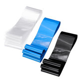 85mmX10m PVC Transparent/Black/Blue Color Heat Shrink Tube for Lipo Battery