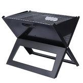 3-5personeall'apertoportatilepieghevolebarbecue grill barbecue carbone stufa a legna campeggio picnic