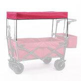 IPREE® Garden Utility Wagon Cart Sun / Rain Shade Cover Trolley Canopy لحديقة عربة المرافق