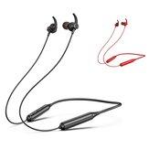 Bakeey DD9 bluetooth Fone de ouvido sem fio com fita para o pescoço Fone de ouvido intra-auricular Fone de ouvido estéreo esportivo durável com microfone para iPhone Huawei