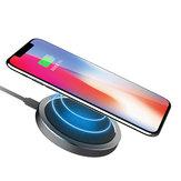 ROCK W4 2A Qi bezprzewodowa szybka ładowarka do ładowania dysku dla iphone X 8/8 Plus Samsung S8 S7 iWatch 3