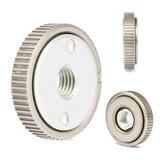 Mandril de placa de bloqueio de porca de liberação rápida 50 mm M14 de 2 polegadas para rebolo de esmeril