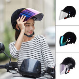 BIKIGHT Breathable Riding Helmet With Lenses Motorcycle Biker Goggles Windshield Protector Adjustable Outdoor Cycling Biking Helmets