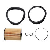 BMW MINI R50 R52 R53 ONE COOPER S 16146757196用燃料フィルターとOリングセット