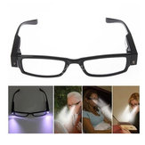 Rimmed Reading Glasses Eyeglasses Spectacal With LED Light