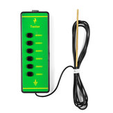 Farm ABS Voltage Tester Pen Electric Fencing Digital Fence 1000V-6000V Tester di misura con sonda