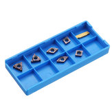 Machifit 7pcs Carbide Insert Set for 10mm Shank Turning Tool Holder