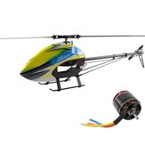 XLPower 520 XL520 6CH FBL RC Helikopter Kit ile 1100KV 4020 Motor