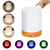 Abajur portátil regulável LED Touch Night Light Mesa de mesa Abajur Touch Control USB