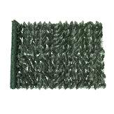 100x250cm Τεχνητό Κάθετο Φύλλωμα Φυλλώματος Γκαζόν Φράχτη Πάνελ Κήπου