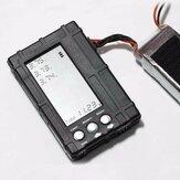 3 In 1 2S-6S Boşaltıcı Gerilim Test Cihazı Li-Po Li-Fe için Dengeleyici Batarya