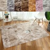 Puszyste dywaniki Antypoślizgowy dywan z kudłatym dywanem Dywan Prostokątna mata podłogowa Sypialnia w domu