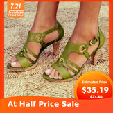 Large Size Women  explosion models Euramerica Heeled Sandals