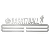 400x142x2mm Wieszaki na medale sportowe Gym Football Basketball Basketball Rack Uchwyt ścienny