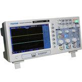 HantekDSO5202PDigitalOsciloscopio200MHzAncho de banda 2 canales 1GSa / s 7 pulgadas TFT LCD PC USB portátil Osciloscopio Eléctrica herramienta