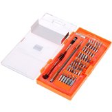 JAKEMY JM-8126 58 in 1 Interchangeable Magnetic Screwdriver Set Repairtools for Cell Phone PC Hardware