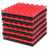 12Pcs Sound-Proof Foam Tile Acoustic Studio Board Set to Cover The Sound