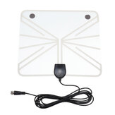 Universale ATSC USB HD TV digitale Antenna 50-100 miglia HD con amplificatore di segnale dell'amplificatore HDTV per interni