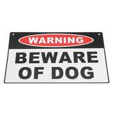 200x300mm警告犬アルミ安全警報サインの家のドアの壁のステッカーに注意してください
