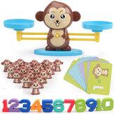 Conjunto de brinquedos de equilíbrio digital da Monkey Aritmética de equilíbrio de letras digital reforça o jogo Intellgence em desenvolvimento para crianças