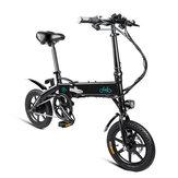 [EU Direct] FIIDO D1 10.4Ah 36V 250W 14 дюймов Складной велосипед для мопеда 25 км / ч Макс. 60 км Пробег Электрический велосипед