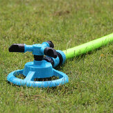 Automatic 360 Rotating Garden Lawn Water Sprinklers 3 Arms Sprayer Irrigation