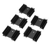 5Pcs 34*12*25 Plum Blossom Radiator Heat Sink for TO-220 Package Dedicated YV25
