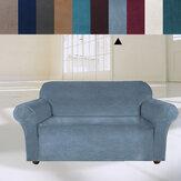 3 ülés elasztikus bársony kanapéhuzat univerzális tiszta színű szék ülésvédő kanapé tok nyújtható papucs otthoni irodai bútor dekoráció