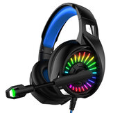 YOBA A20 Kablolu Oyun Kulaklığı RGB 3.5mm / USB Arayüzü Bas 7.1 Kanal Kulaklık Oyun Müziği Kulaklığı