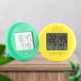 Bakeey YSJ-1819 Electronic Термометр Гигрометр Цифровой Дисплей Температура Влажность Термометр Гигрометр Круглый Бытовая Электронная сигнализация