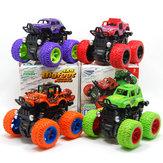 La puissance de friction rotative de la voiture d'entraînement de roue de pied de 9cm de traction classique de grand pied bloque l'inertial antichoc bloque des jouets