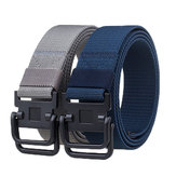 125cm AWMN S10 3.8cm Nylon Double Ring Buckle Heavy Duty Rigger Military Tactical Belt