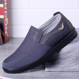 Banggood Hommes Occasionnels Chaussures Grande Taille Léger Confortable Slip On Oxfords