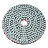 5 Polegada 50-6000 Grit Diamante Almofada de Polimento Disco de Lixamento a Seco Molhado para Vidro de Granito de Mármore