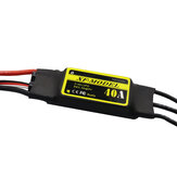 XF-Model 2-3S 40A Brushless ESC With 5V/3A Switch BEC T XT60 Plug for RC Model