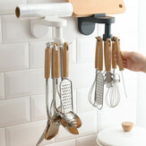 Kitchen Utensils Rack Free Punching Wall-Mounted Spatula Spoon Storage Rack Kitchen Supplies Storage Rack