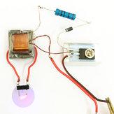10PcsInverterBoostGeradordealta pressão Arc Ignition Módulo de bobina mais leve Electronic DIY Production Kit