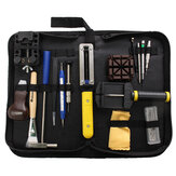 29Pcs Watch Tools Professional Table Repair Tool Set Dengan Tas Hitam
