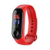 Bakeey M3C 0.96 inch Full Screen Blood Pressure Oxygen Monitor IP68 Long Standby Smart Watch