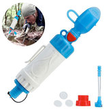 IPRee® Portable Outdoor Water Filter Pressure Purifier Cleaner Camping Wild Drinking Safety Survival Emergency Kits