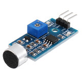 Microphone Sound Sensor Module Voice Sensor High Sensitivity Sound Detection Module Whistle Module