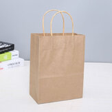 25Pcs Shopping Gift Paper Party Bolsa W / Handles Birthday Loot Bolsa 6.3x8.7x3.2