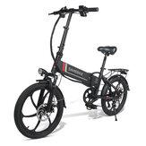 SAMEBIKE 20LVXD30 10.4Ah 48V 350W 20 в складном электрическом велосипеде 35 км / ч Максимальная скорость 80 км Пробег максимальная нагрузка 120 кг E-bike City Bike
