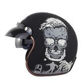 SOMAN SM521 Pojazd elektryczny kask motocyklowy Mężczyźni Kobiety Kask Retro Cztery pory roku Uniwersalny pół kask